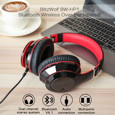 BlitzWolf BW-HP1 Wireless Bluetooth V4.1 Headphones Foldable Stereo Headset +MIC
