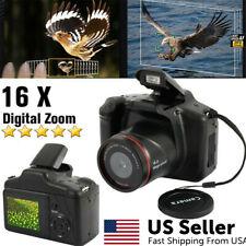 Digital Camera 3 Inch TFT LCD Screen HD 16MP 1080P 16X Zoom Anti-shake USA