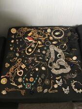 Large Job Lot of Broken Vintage & Modern Jewellery Harvesting Spare or Repair
