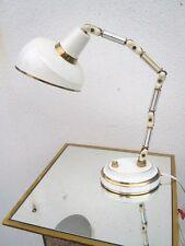 Lampe moderniste laiton laqué montée sur rotules Bauhaus Lampe Cocotte vers 1950