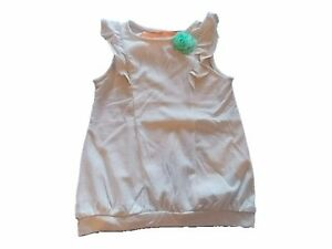 NWT Girl's Gymboree Ice Cream Parlor gray ivory striped shirt ~ 4T FREE SHIPPING