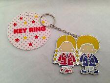 Sanrio Patty & Jimmy Metal Keychain key ring chain