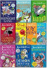 David Walliams Collection 10 Books Set Grandpa Great Escape, Awful Auntie, Demon
