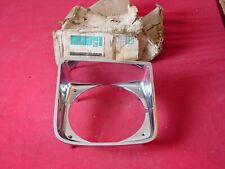 NOS 1978 Chevy Chevette RH Headlight Bezel Chrome Group 2.728 #477406
