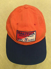 Vintage Nautica Summer Sports Adjustable Hat-Surf 325 N HJ20 Orange Blue