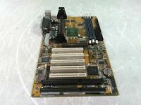 ABit AB-BH6 Slot 1 Motherboard 1x AGP 5x PCI 2x ISA Slots Boots Motherboard Only
