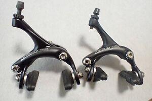 Brake set Calipers Campagnolo Mirage pair front & rear calliper black AG10
