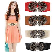 Hot Fashion Accessories Alloy Flower Vintage Leather Belt Belt Straps For Women