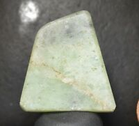 Jade Jadeite Burma Myanmar  Natural Rough Jade Cabbing material preform shaped