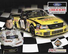 """2006 TERRY COOK """"POWER STROKE DIESEL RACING"""" #10 NASCAR TRUCK SERIES POSTCARD"""