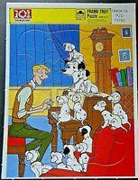 Disney 101 Dalmatians Frame-Tray Puzzle -Golden (1990) - NEW