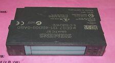 SIEMENS 6ES7 131 4BD00 0AB0 4 DI HF DC24V Simatic S7 Module