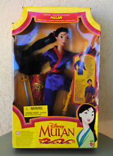 Poupée style Barbie MULAN princesse Disney (Mattel) Neuve sous blister