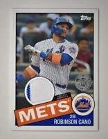 2020 Topps Series 2 1985 Baseball Relic #85TR-RC Robinson Cano - New York Mets