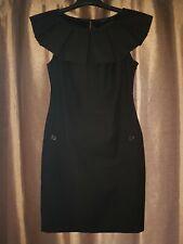 Ted Baker Stunning Black Dress Size 2 (UK Size 8 To 10)