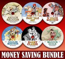 'GOLDEN AGE' ART BUNDLE - Over 6000 illustrations on 6 DVDs! - Save £$£$
