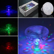 Underwater LED Glow Light Show Floating Disco Ball for Pool Spa Pond Lighting 1x