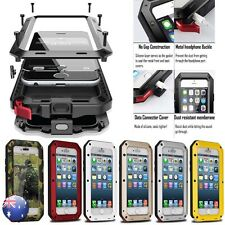 HEAVY DUTY Shockproof Bumper Aluminum Metal Cover Case Waterproof iPhone 5 6 7 +