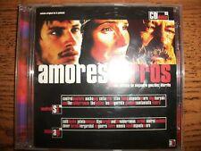 Amores Perros-Original Soundtrack-Gustavo Santaolalla-2 Cd-2000 Universal!