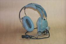 Genuine Vietnam War Surplus US Air Force Head Set  with Microphone , H-157/AIC