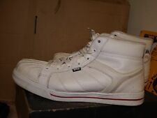 Site Shale White High Leather Safety Trainers catering warehouse - SZ 9/43 AA528