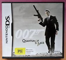007 James Bond Quantum of Solace Nintendo DS/DS Lite/DSi Spiel BRANDNEU