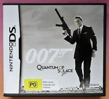 007 JAMES BOND QUANTUM OF SOLACE NINTENDO DS/DS LITE/DSi GAME brand new