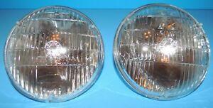 AC GM Power Beam 12v Head Light Headlamp 5001 Replaced 4001 2 each USA