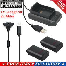 2x 2200mAh Akku für XBox 360 Wireless Controller + USB Ladegerät Kit Xmas Gift