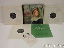 MOLINARI-PRADELLI Puccini Manon Lescaut (Complete) 3-LP Box London A-4316 VG+ UK