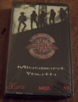 """Shy England """"Misspent Youth"""" SEALED NM CASSETTE"""