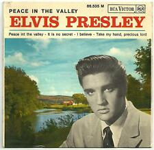 Elvis Presley Peace in the valley EP from France - Scarce!