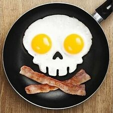Silicone Egg Mould Shaper Kitchen Cooking tool - SKULL