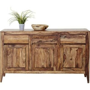 Boston Taper Contemporary Solid Wood Sideboard Hutch Buffet (MADE TO ORDER)
