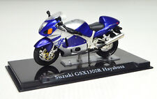 SUZUKI GSX 1300 R HAYABUSA BLUE SCALE 1:24 Motorcycle Model of Atlas die-cast