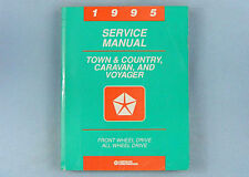 Service Manual, 1995 Town & Country/Caravan/Voyager (AS), FWD/AWD, 81-370-5105