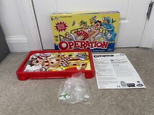 Operation Vibrating Electronic Game Hasbro 100% Complete w/ Instructions Tested