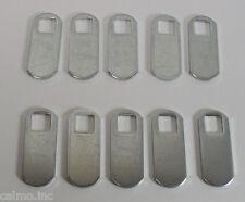 "(10) Southco CM-C010 1-1/4"" Straight Cam Lock Latch Zinc Plate Brite Chromate"