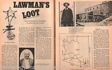 """Lawman's Loot Of Gold in The Southern Pacific """"Flyer"""" Train Robbery in Arizona"""