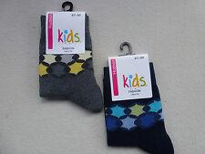 HUDSON Children's Socks Boys Fashion Edging (Rrp 4,50) % Co 23-34 Socks New