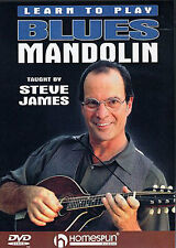 Learn To Play BLUES MANDOLIN Tutor Lesson DVD BLUES BOOGIE WOOGIE CHORDS EASY