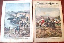 456) 1925 EPISODI AVVENUTI DURANTE LA GUERRA DEL MAROCCO FRANCESE. 2 RIVISTE