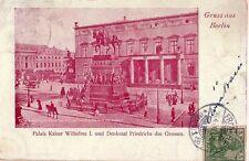 DEUTSCHLAND - BERLIN - PALAIS KAISER WILHELMS I° - RARA CARTOLINA - 1900