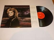 BONNIE TYLER Secret Dreams & Forbidden Fire - 1986 UK CBS label 8-track vinyl LP