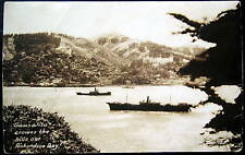 Sausalito CA~40's Richardson Bay~Battle Ships? ZAN RPPC