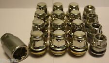 12 X M12 X 1.5 & 4 LOCKING REPLACEMENT ALLOY WHEEL NUTS FIT FORD SIERRA COSWORTH