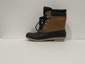 Tommy Hilfiger Women's Boots Gray Multi Tw Muddy Size 7