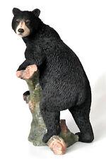 bär,baer,24x12cm,figur,tierfigur,bear,polyresin,skulptur,statue,tier,baum,ast