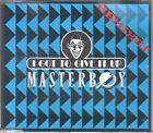Masterboy CD-SINGLE I GOT TO GIVE IT UP ( REMIXES )