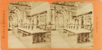 Francia Parigi Louvre Marquis Campana, Foto Stereo Albumina Ca 1868